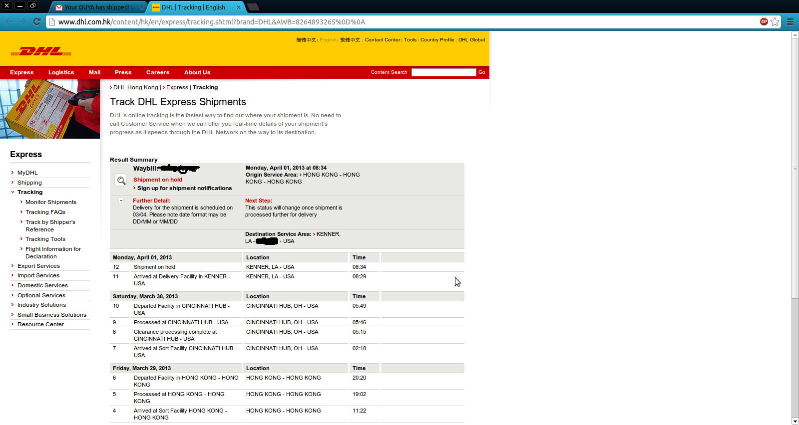 parcellink today s shipment tracking technology. Black Bedroom Furniture Sets. Home Design Ideas